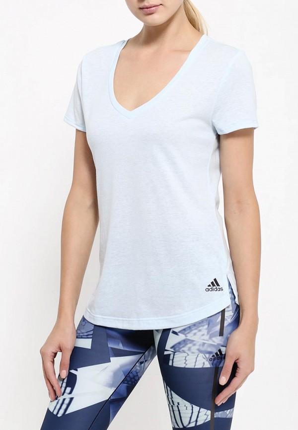 Спортивная футболка Adidas Performance (Адидас Перфоманс) AY0177: изображение 3