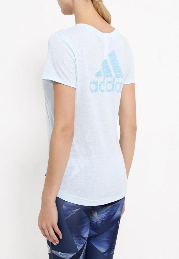 Спортивная футболка Adidas Performance (Адидас Перфоманс) AY0177: изображение 4