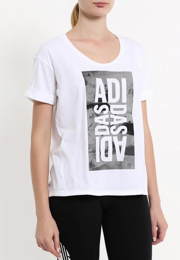 Спортивная футболка Adidas Performance (Адидас Перфоманс) AY4972: изображение 3