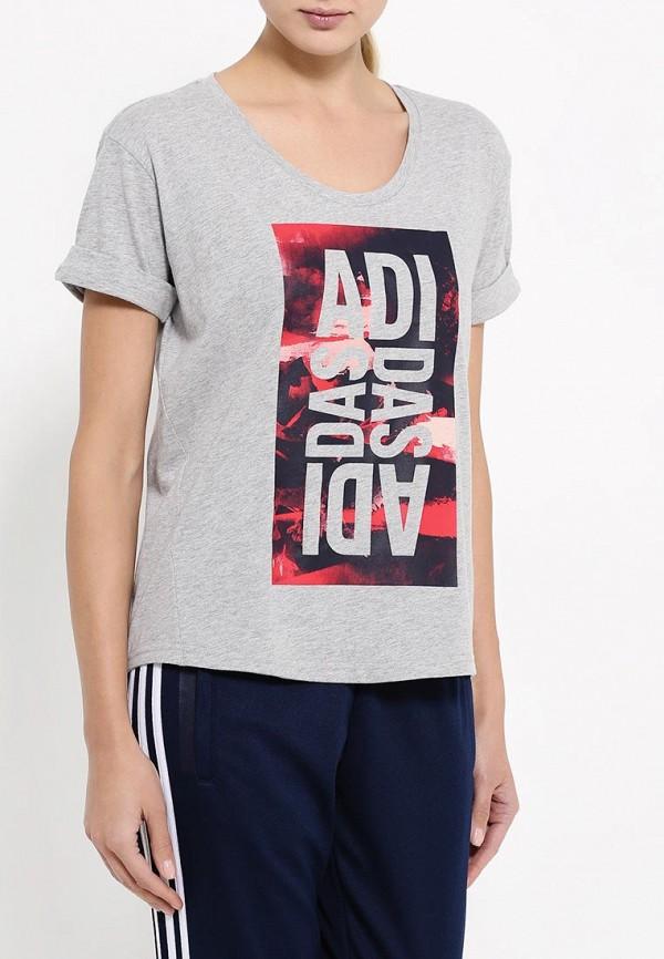 Спортивная футболка Adidas Performance (Адидас Перфоманс) AY4973: изображение 3