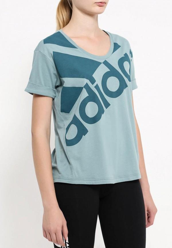 Спортивная футболка Adidas Performance (Адидас Перфоманс) AY4974: изображение 3