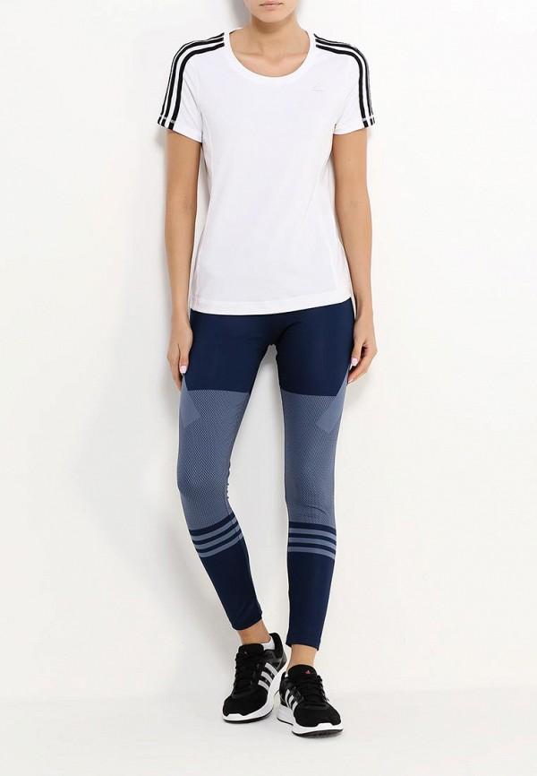 Женские спортивные брюки Adidas Performance (Адидас Перфоманс) B39665: изображение 2
