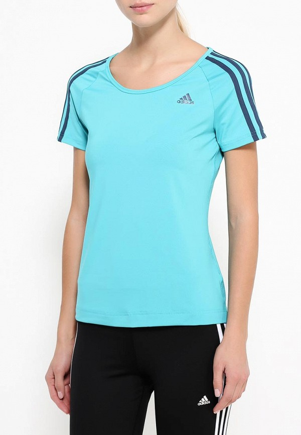 Спортивная футболка Adidas Performance (Адидас Перфоманс) AJ5367: изображение 3