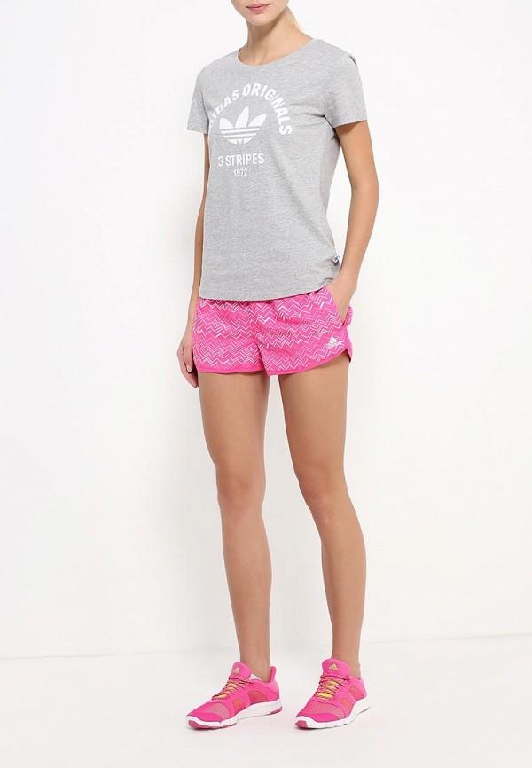 Женские спортивные шорты Adidas Performance (Адидас Перфоманс) AJ7906: изображение 2