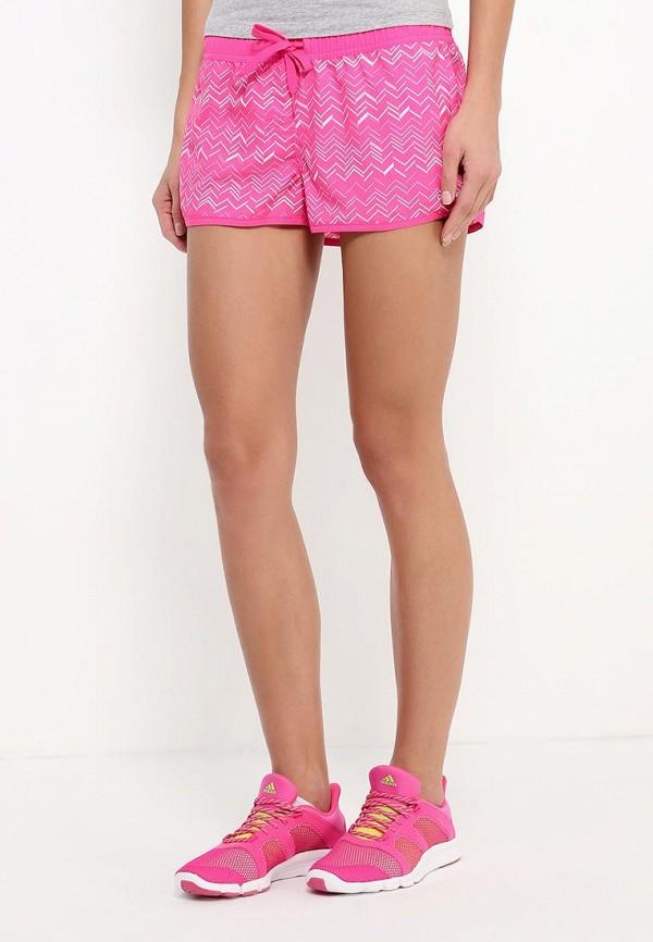 Женские спортивные шорты Adidas Performance (Адидас Перфоманс) AJ7906: изображение 3