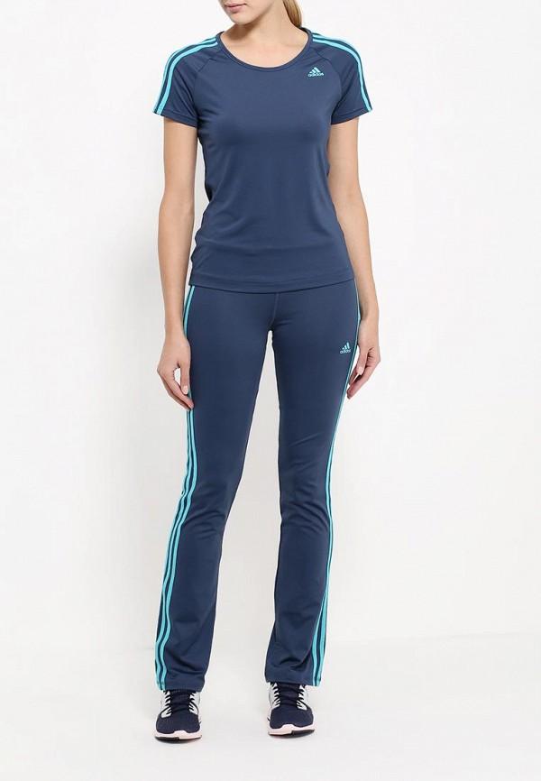 Женские спортивные брюки Adidas Performance (Адидас Перфоманс) AJ9355: изображение 2