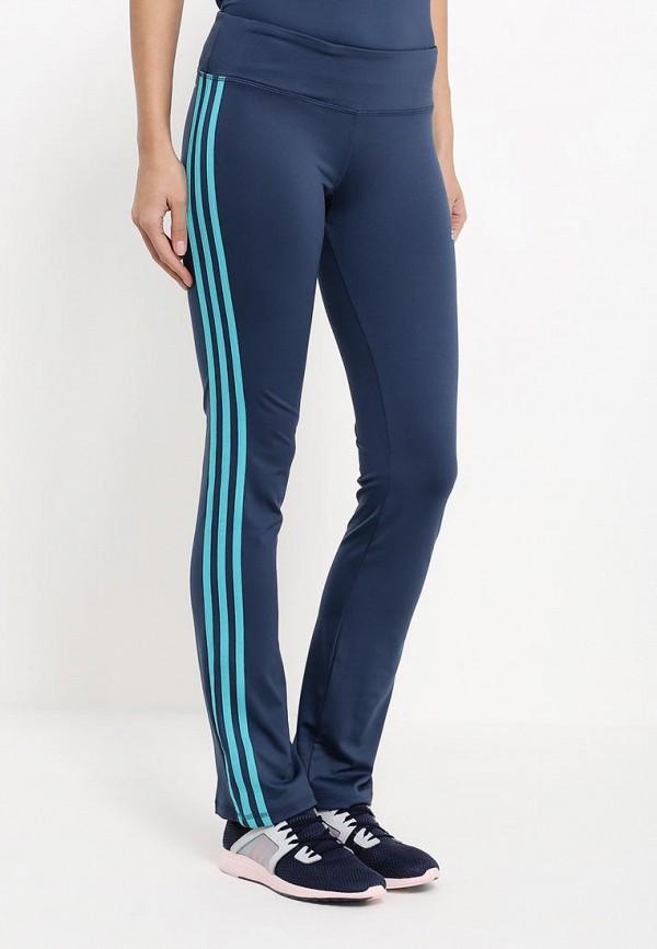 Женские спортивные брюки Adidas Performance (Адидас Перфоманс) AJ9355: изображение 3