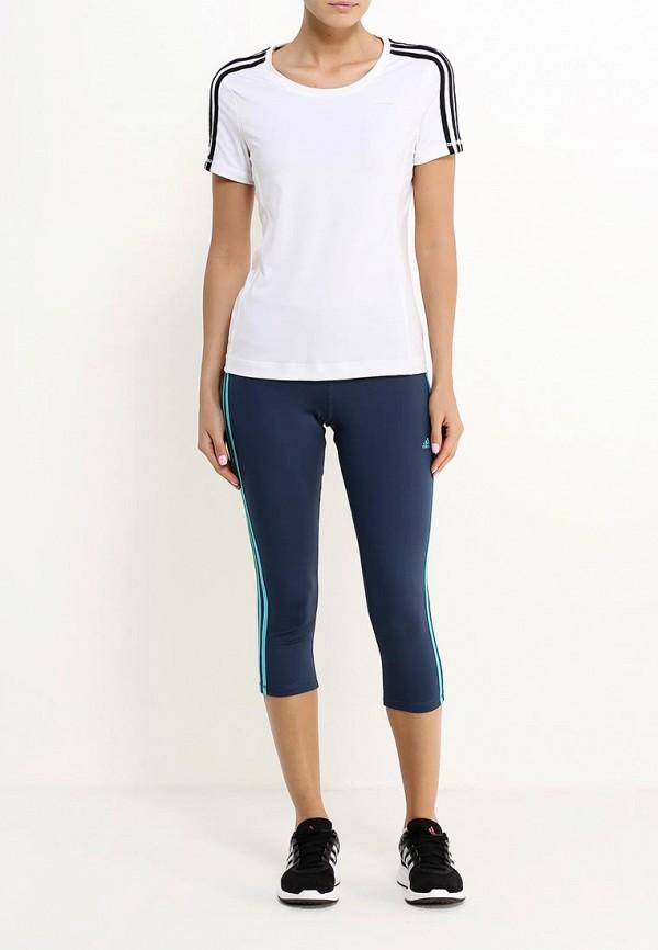 Женские спортивные брюки Adidas Performance (Адидас Перфоманс) AJ9371: изображение 2