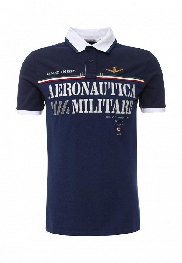 Мужские поло Aeronautica Militare 161PO1068P118: изображение 1
