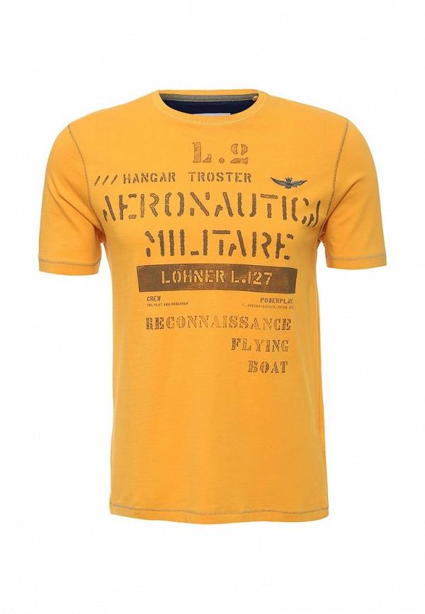 Футболка с надписями Aeronautica Militare 161TS1224J288: изображение 1