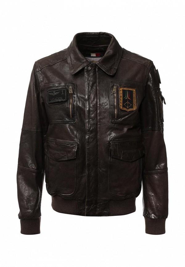 Кожаная куртка Aeronautica Militare pn8461839: изображение 1