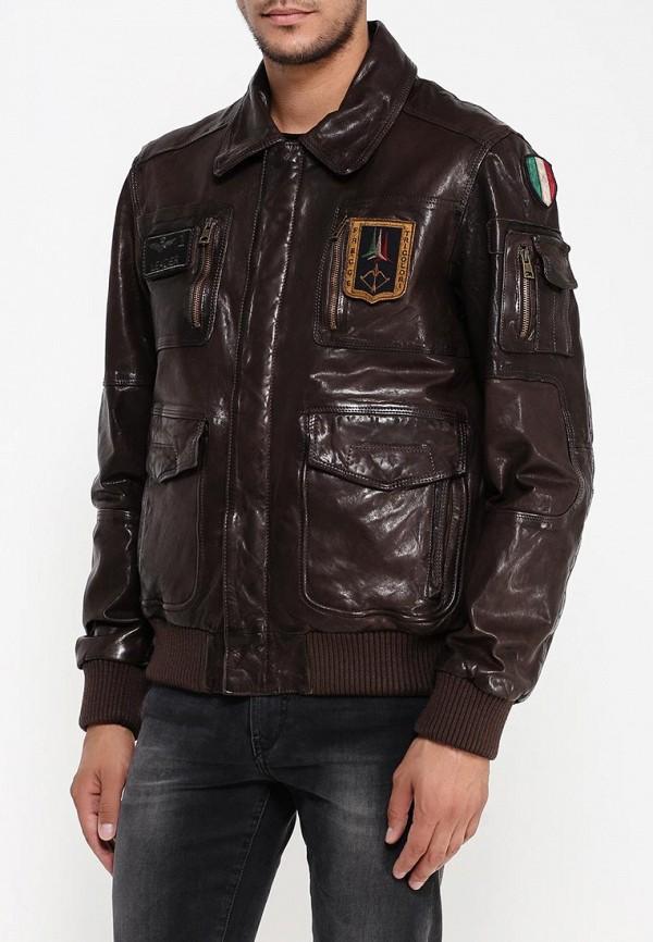 Кожаная куртка Aeronautica Militare pn8461839: изображение 3