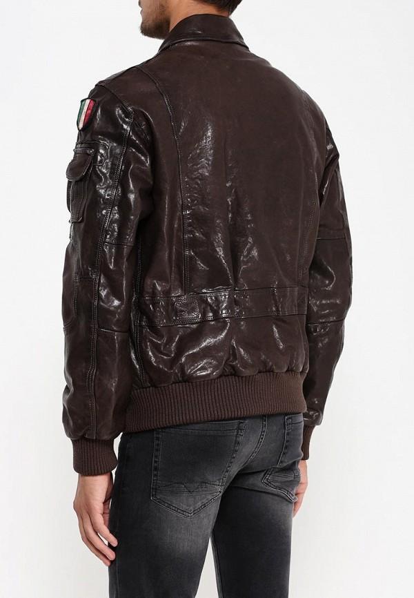 Кожаная куртка Aeronautica Militare pn8461839: изображение 4