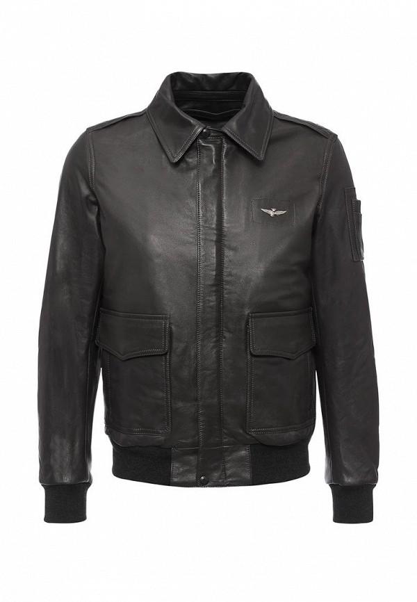 Кожаная куртка Aeronautica Militare pn8861839: изображение 1