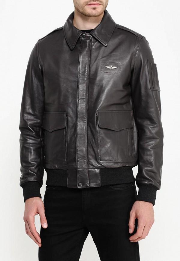 Кожаная куртка Aeronautica Militare pn8861839: изображение 3