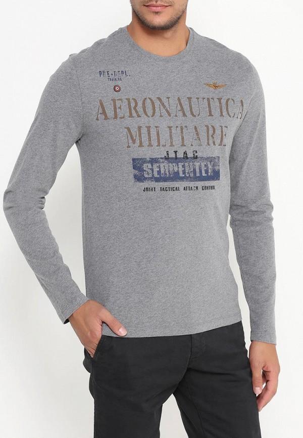 Футболка с длинным рукавом Aeronautica Militare ts1309j17: изображение 4