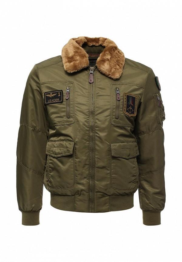 Куртка утепленная Aeronautica Militare Aeronautica Militare AE003EMUMX42 мужская хлопчатобумажная куртка мужская длинная мужская одежда крупногабаритная хлопчатобумажная одежда