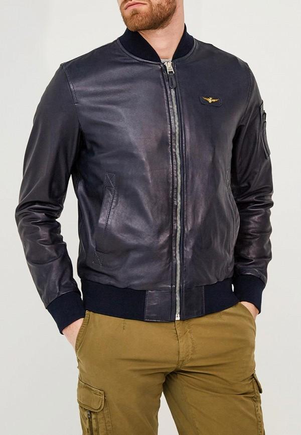 Куртка кожаная Aeronautica Militare Aeronautica Militare AE003EMZPY69 брюки quelle bruno banani 858745