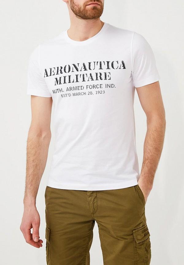 Футболка Aeronautica MilitareФутболка Aeronautica Militare. Цвет: белый. Сезон: Весна-лето 2018. С бесплатной доставкой и примеркой на Lamoda.<br><br>Цвет: белый<br>Коллекция: Весна-лето 2018<br>Сезонность: мульти<br>Страна-изготовитель: Португалия<br>Пол: men