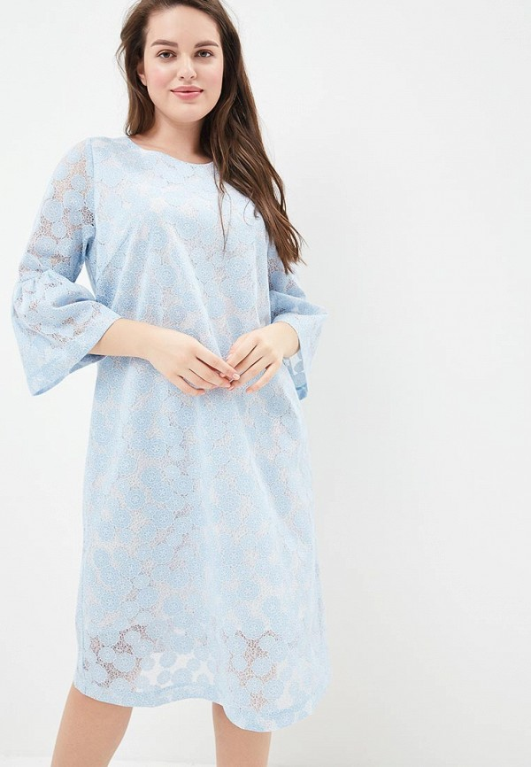 Купить Платье Aelite, Aelite AE004EWBJFU4, голубой, Весна-лето 2018