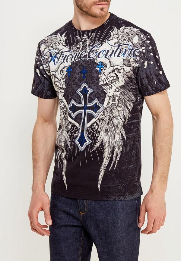 Футболка Affliction Affliction AF405EMAOJZ8 футболка мужская affliction tall grass цвет черный a16358 размер 3xl 56