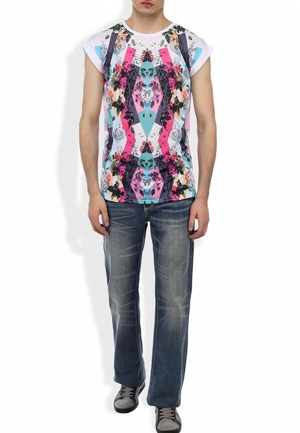 Мужские широкие и расклешенные джинсы Affliction (Аффликшн) 110BC076: изображение 6