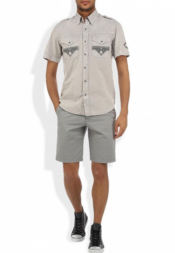 Рубашка с коротким рукавом Affliction (Аффликшн) 110WV257: изображение 3