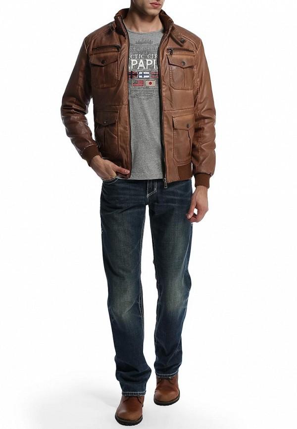 Мужские прямые джинсы Affliction (Аффликшн) 110LF020: изображение 5