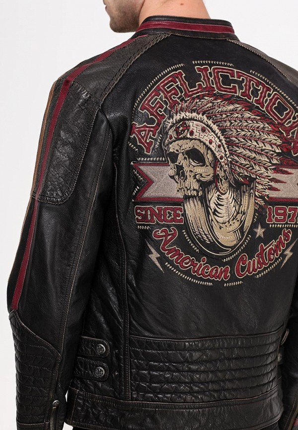 Кожаная куртка Affliction (Аффликшн) 110OW187: изображение 2