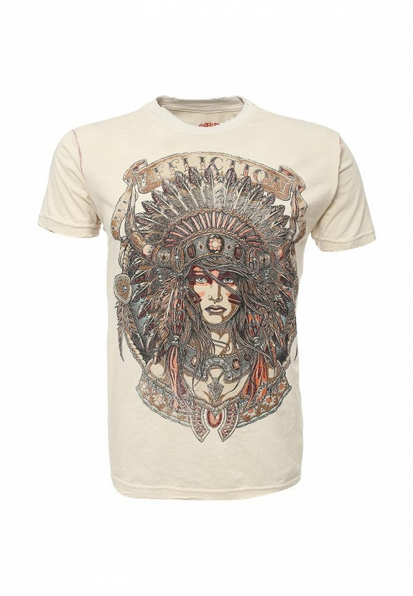 Футболка Affliction HEAVY WIND S/S CREWNECK TEE