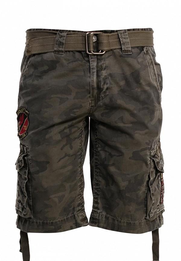 Мужские повседневные шорты Affliction (Аффликшн) 110WS086