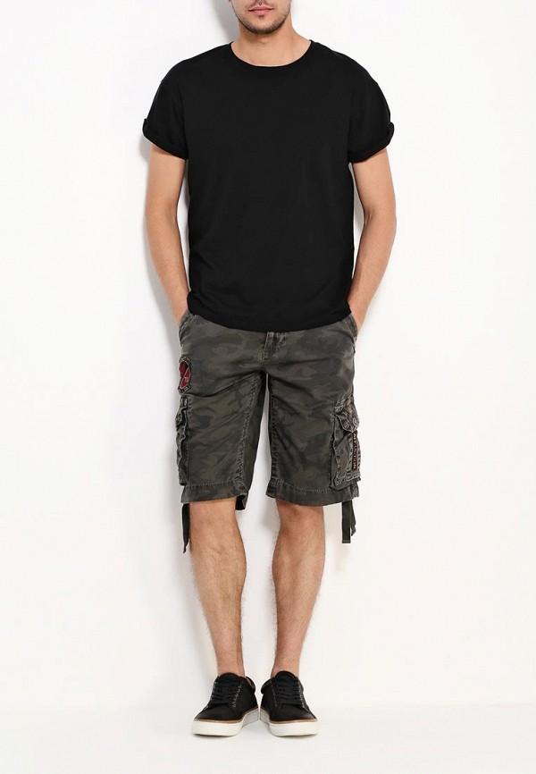 Мужские повседневные шорты Affliction (Аффликшн) 110WS086: изображение 2