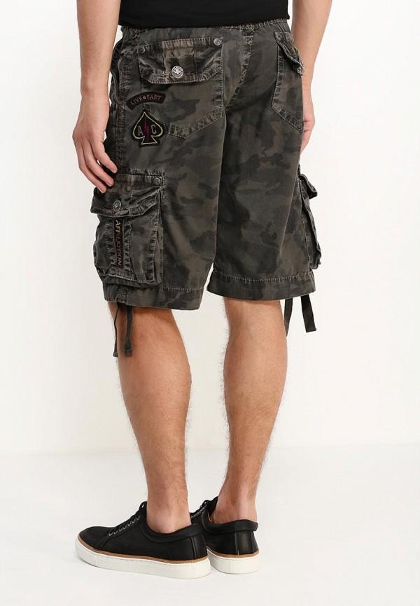 Мужские повседневные шорты Affliction (Аффликшн) 110WS086: изображение 4