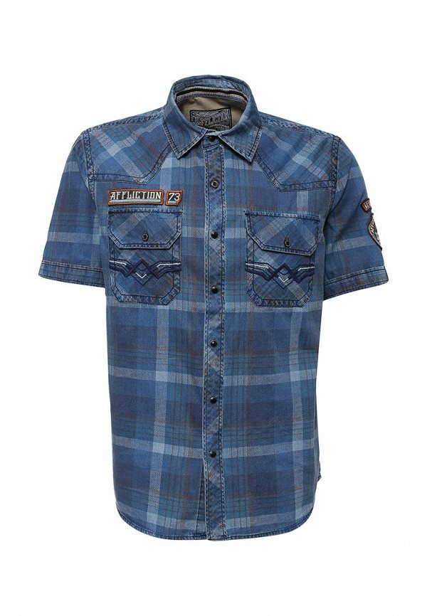 Рубашка с коротким рукавом Affliction (Аффликшн) 110WV447