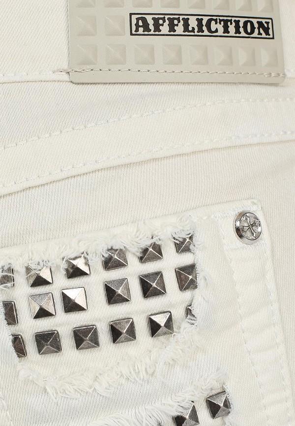 Женские джинсовые шорты Affliction (Аффликшн) 111DS034: изображение 3