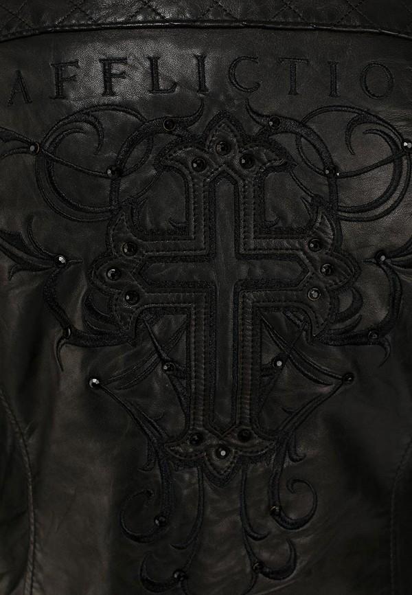 Кожаная куртка Affliction (Аффликшн) 111ow024: изображение 3