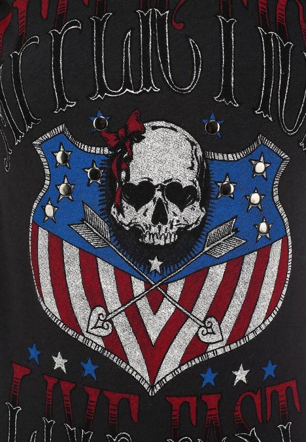 Футболка с надписями Affliction (Аффликшн) AW9405: изображение 2