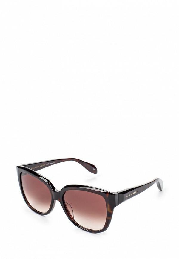 купить Очки солнцезащитные Alexander McQueen Alexander McQueen AL001DWQYL30 дешево