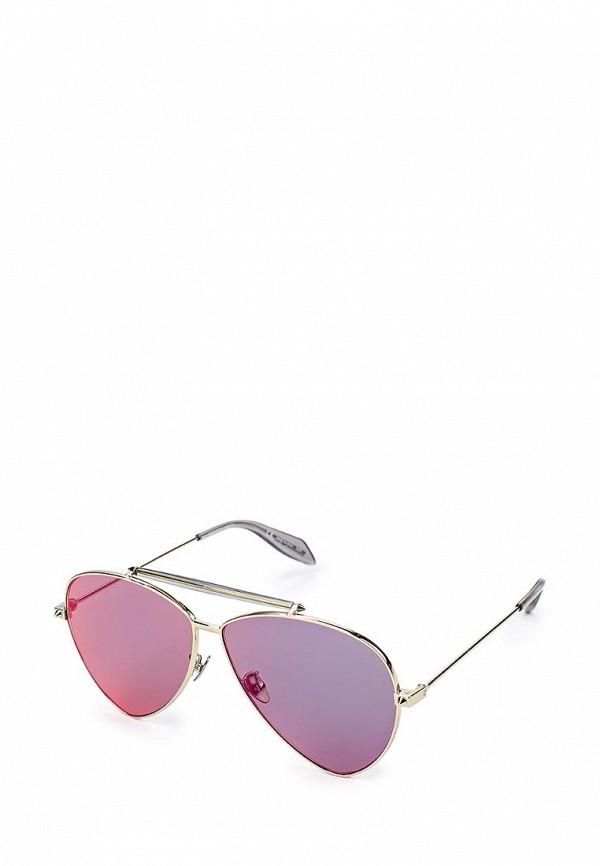 купить Очки солнцезащитные Alexander McQueen Alexander McQueen AL001DWQYL38 дешево