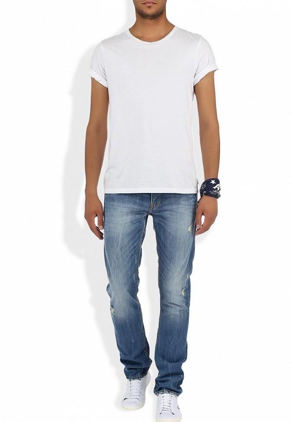 Мужские прямые джинсы Alcott 5T1666UOL759 C753 YELLOW: изображение 5