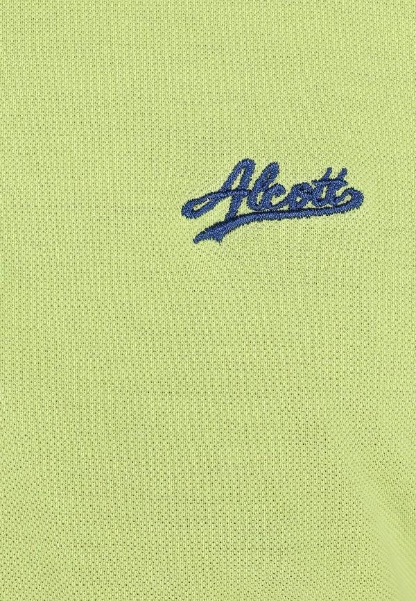 Мужские поло Alcott PP2309UO C683 GREEN: изображение 4