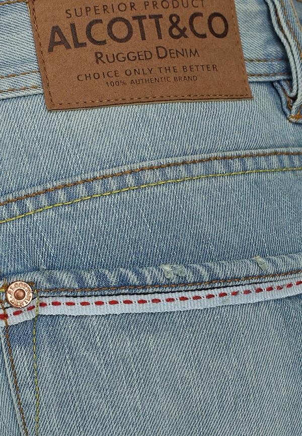 Зауженные джинсы Alcott 5T1688UL399L C293 AZZURRE: изображение 3