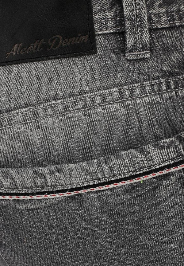 Зауженные джинсы Alcott 5T1696UL887G C120 GREY: изображение 3