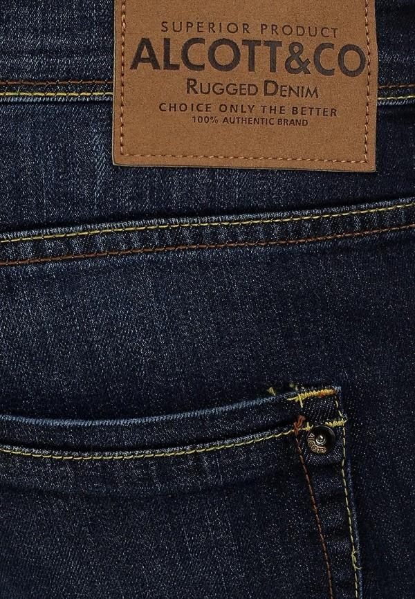 Прямые джинсы Alcott 5T1843UL963D C293 AZZURRE: изображение 3