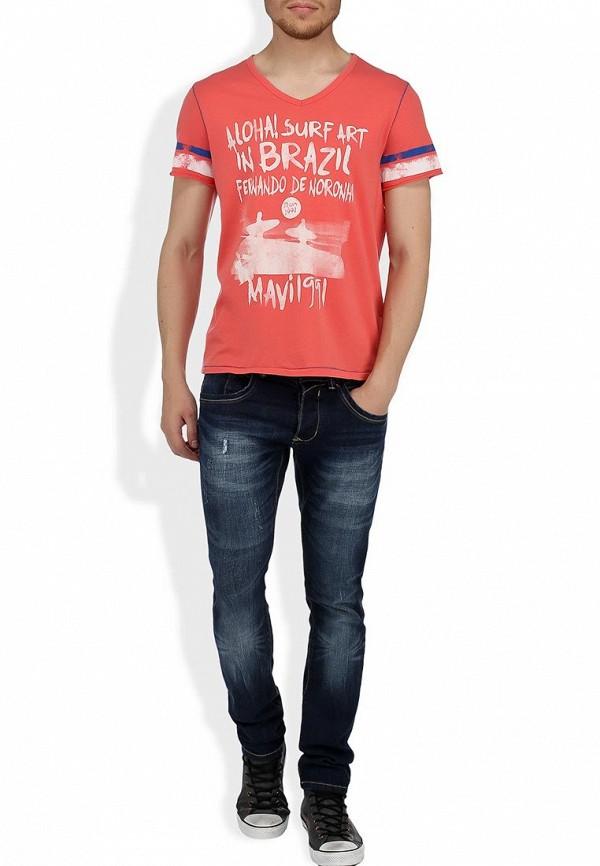 Прямые джинсы Alcott 5T1843UL963D C293 AZZURRE: изображение 5