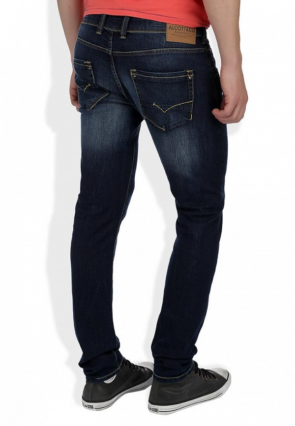 Прямые джинсы Alcott 5T1843UL963D C293 AZZURRE: изображение 7