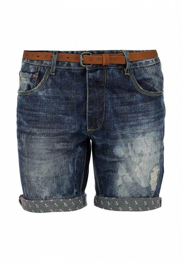 Мужские джинсовые шорты Alcott BE1702UL935D C214 BLUNAVY: изображение 1