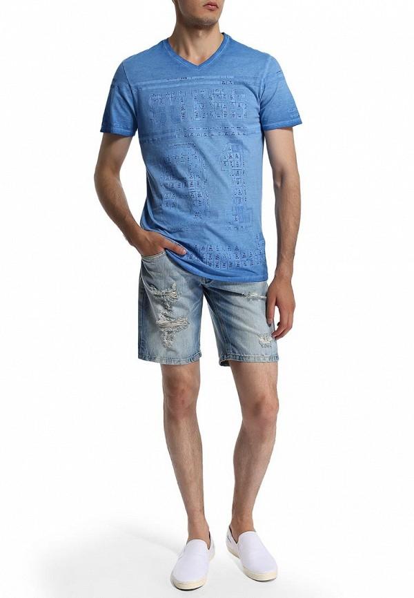 Мужские джинсовые шорты Alcott BE1813UL680L C293 AZZURRE: изображение 3