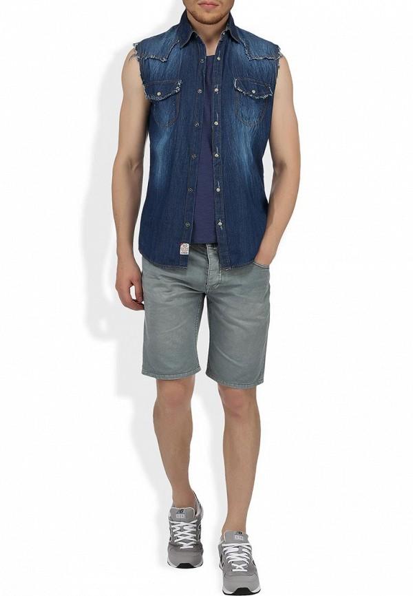 Мужские повседневные шорты Alcott BE1816UO C126 GREY: изображение 5