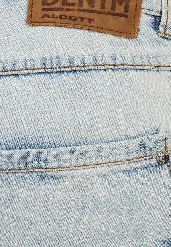 Мужские джинсовые шорты Alcott BE913UOL677 C293 AZZURRE: изображение 3